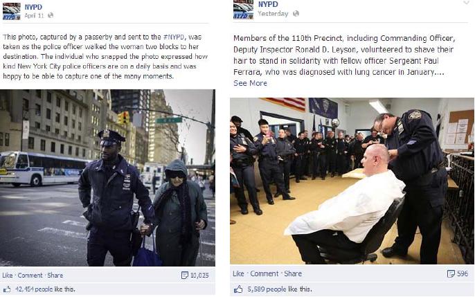 Fallo RRSS NYPD