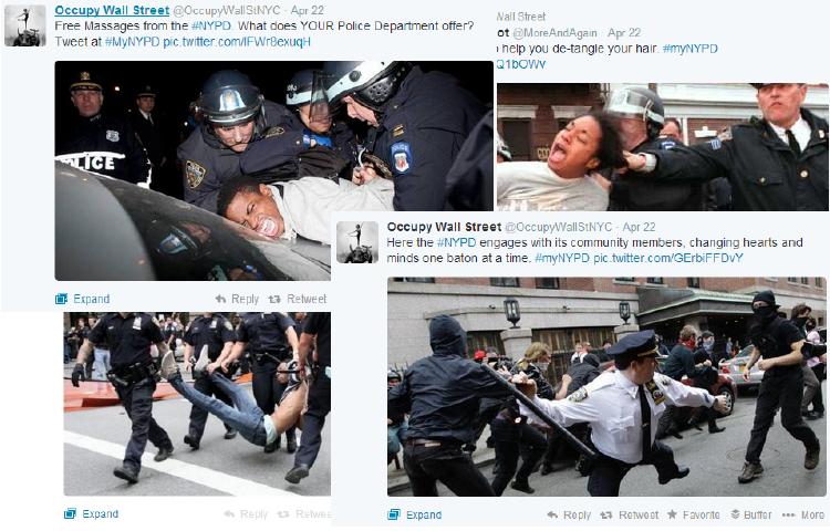 Fallo RRSS de la NYPD