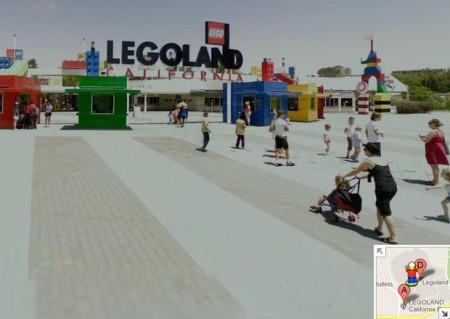 Easter Eggs de Google: Legolandia Google Maps