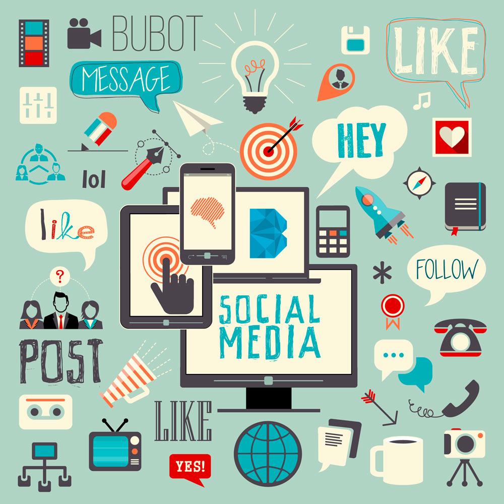 Social Media BUBOT