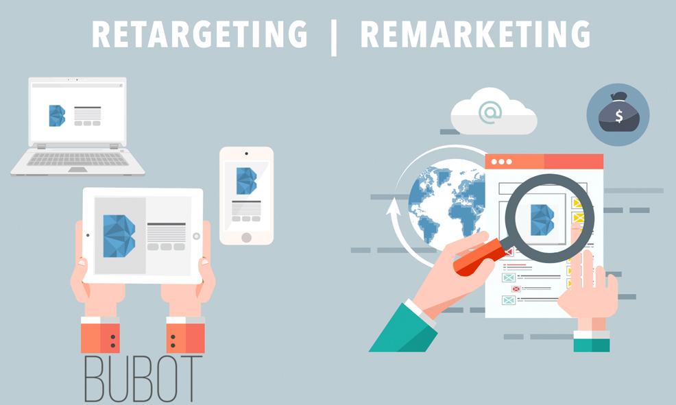 Remarketing como medio de captación de clientes - BUBOT
