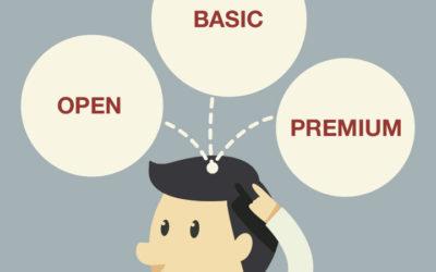 BUBOT te explica la estrategia OBP de marketing online: Open, Basic y Premium.