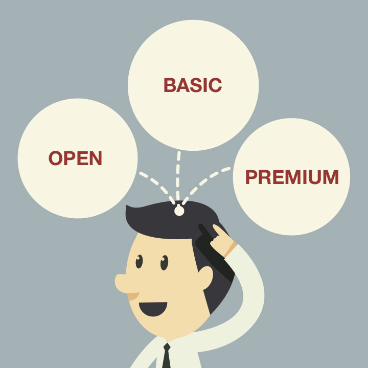 BUBOT te explica la estrategia OBP de marketing online: Open, Basic y Premium.