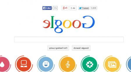 Easter Eggs de Google: google mirror